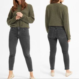 Everlane Mid Rise Skinny Jeans Washed Gray